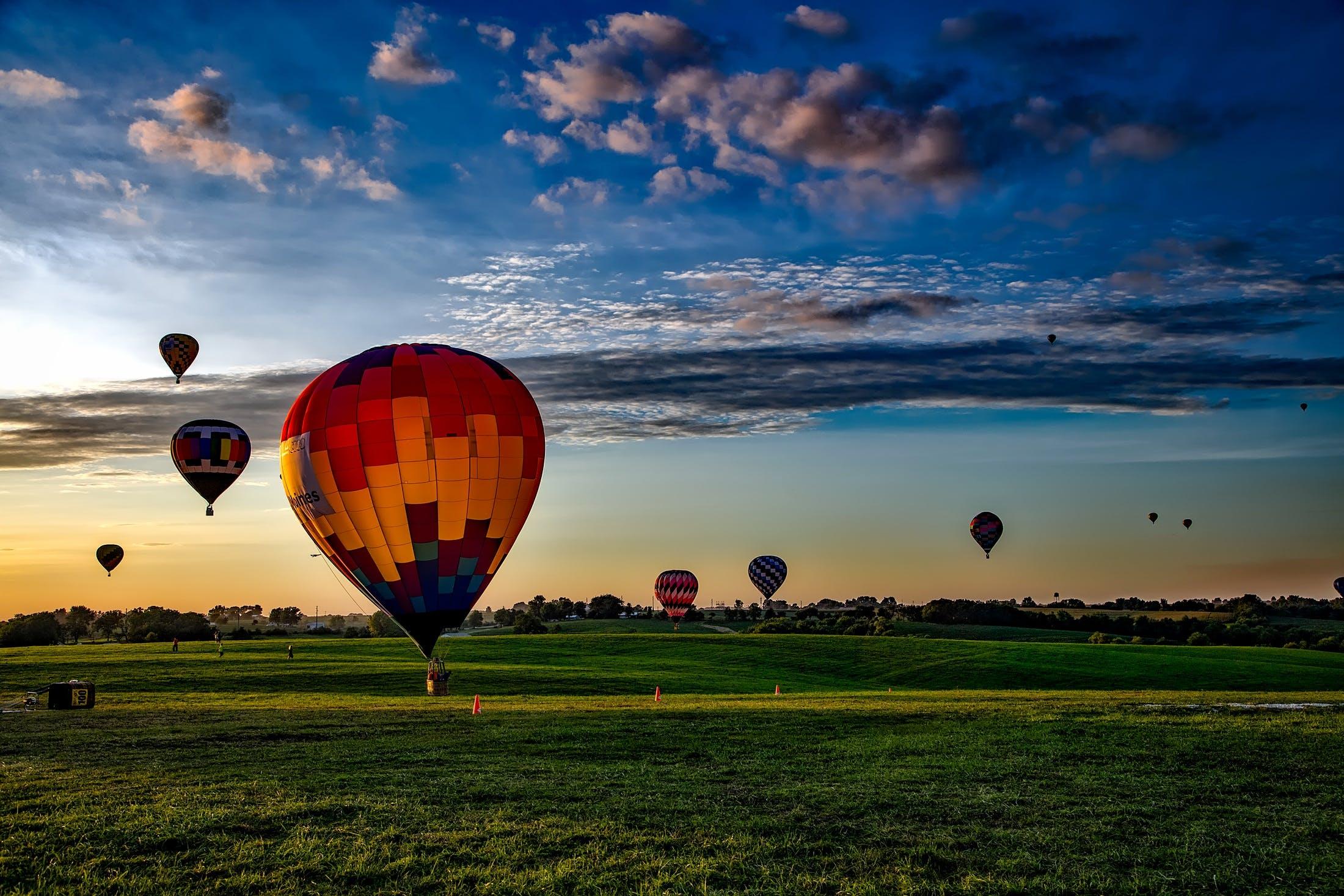 ballon, bane, eventyr
