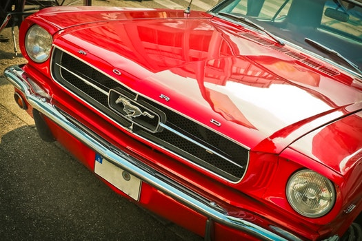 Free stock photo of car, vintage, chrome, retro