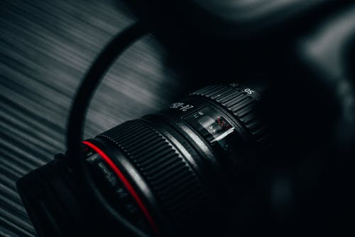 Close-up Photography Of Dslr Camera
