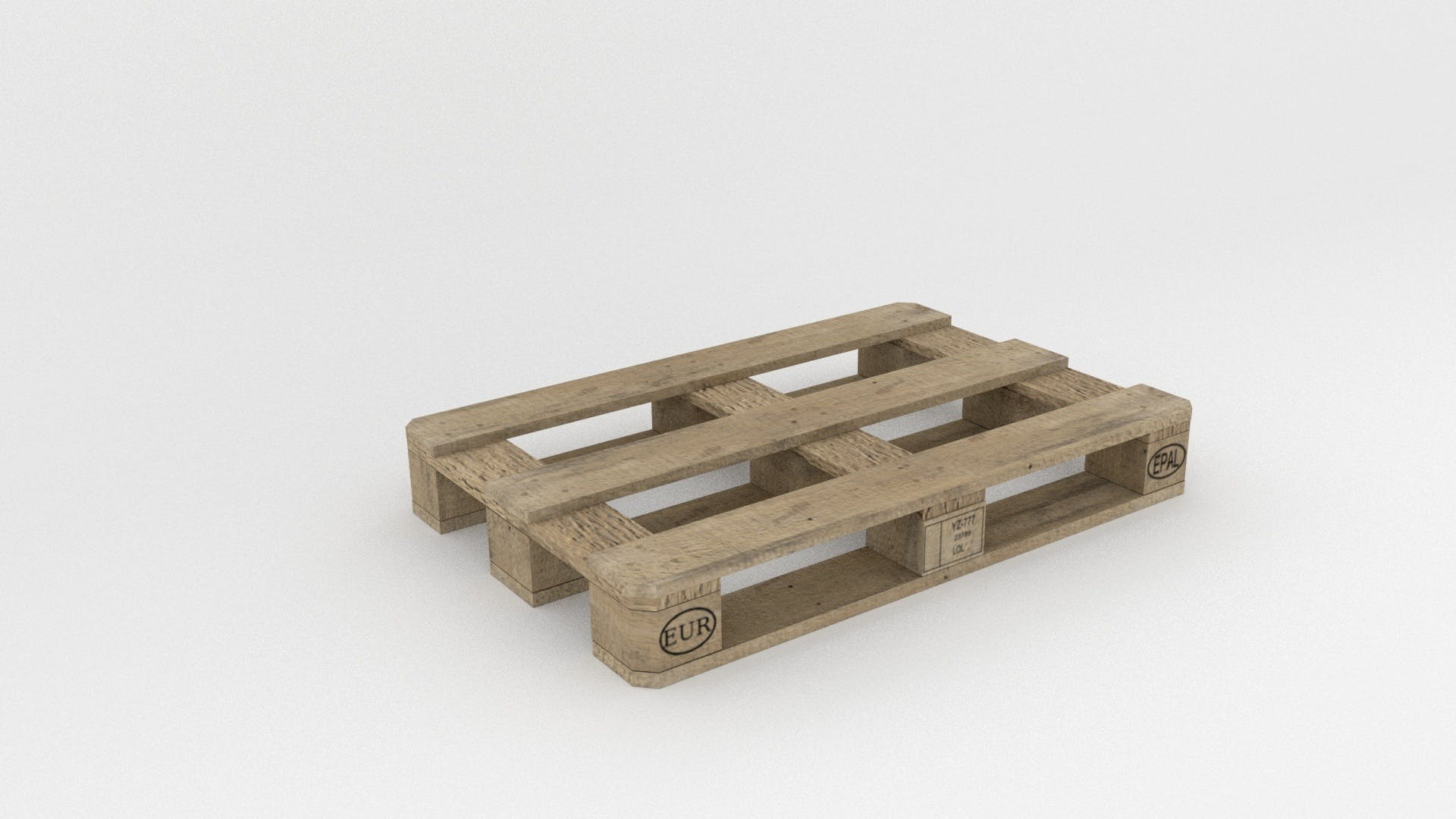 Gray Wooden Pallet