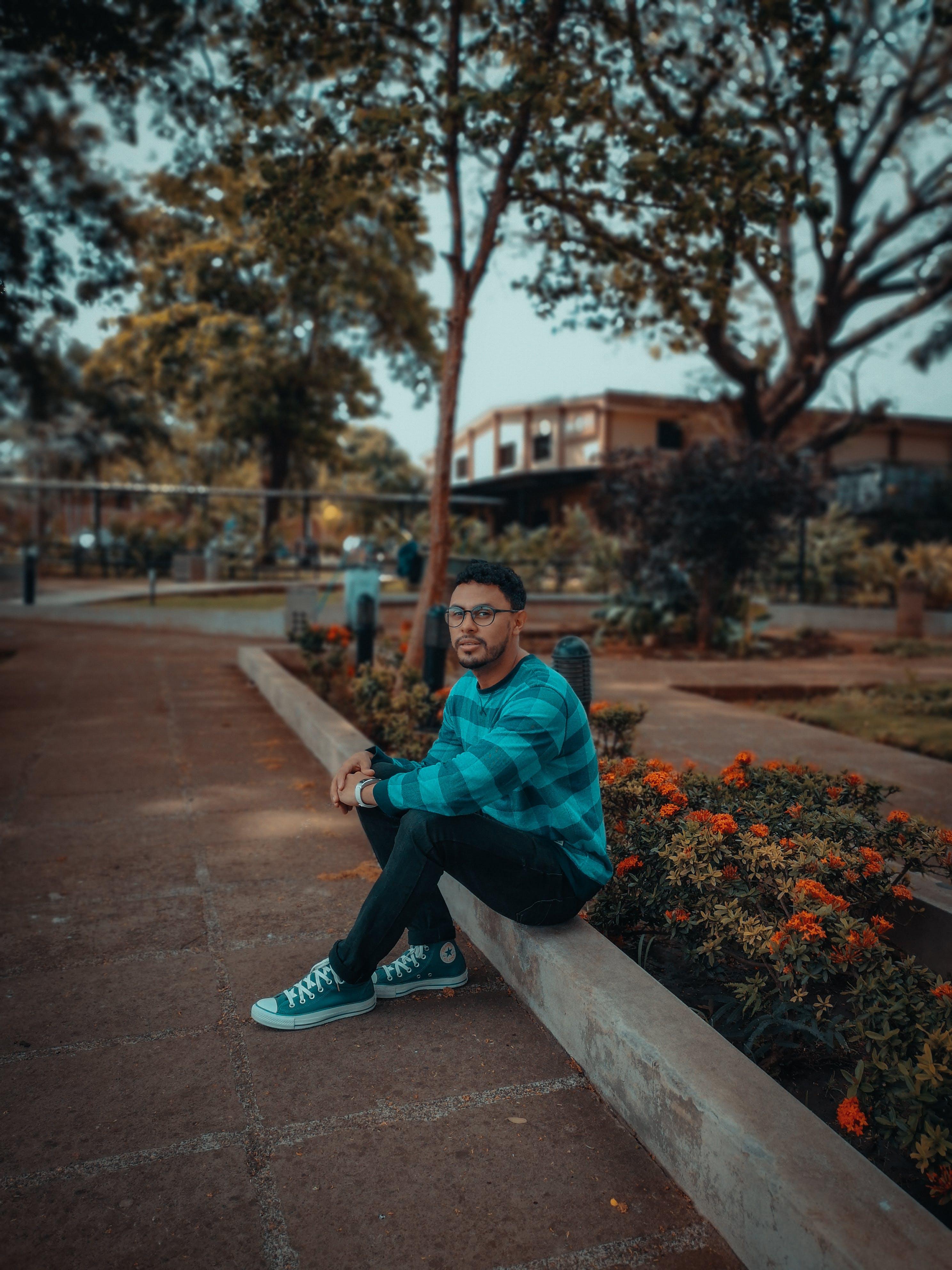 Ingyenes stockfotó Férfi, kültéri kihívás, mobilkihívás, park témában