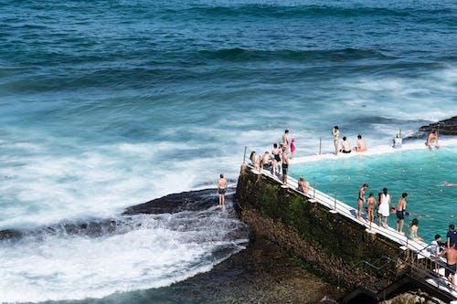 Imagine de stoc gratuită din apă, biliard, coastă, face cu mâna