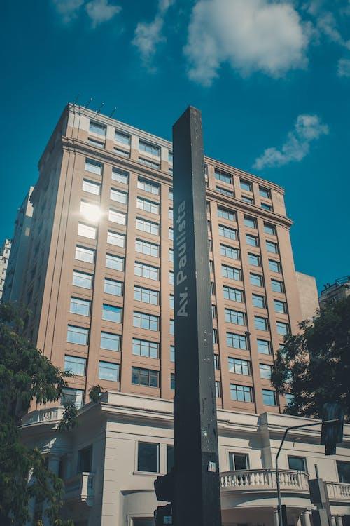 Kostnadsfri bild av arkitektur, byggnad, hotell, lågvinkelfoto