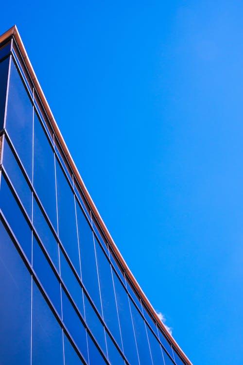 Ingyenes stockfotó építészet, épület, perspektíva, pohár témában