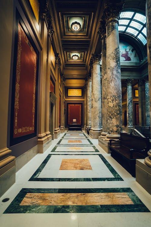 Foto d'estoc gratuïta de arquitectura, columnes, disseny, edifici