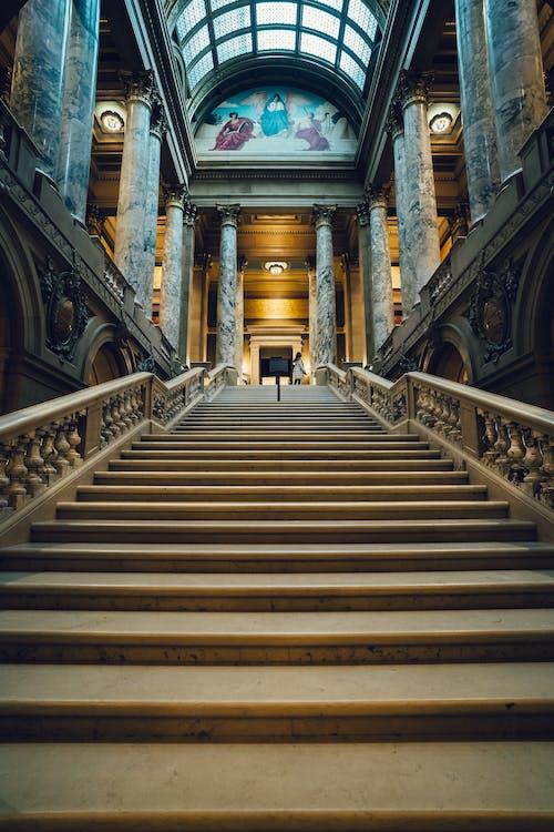 architettura, arco, colonne