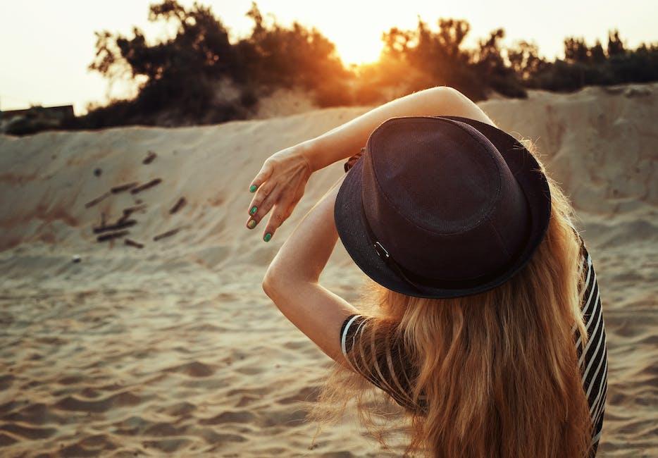 adult, beach, dawn