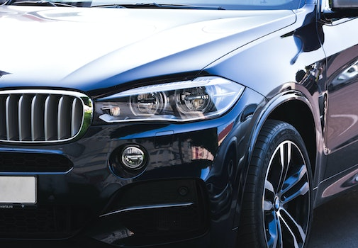 Free stock photo of car, black, hood, BMW