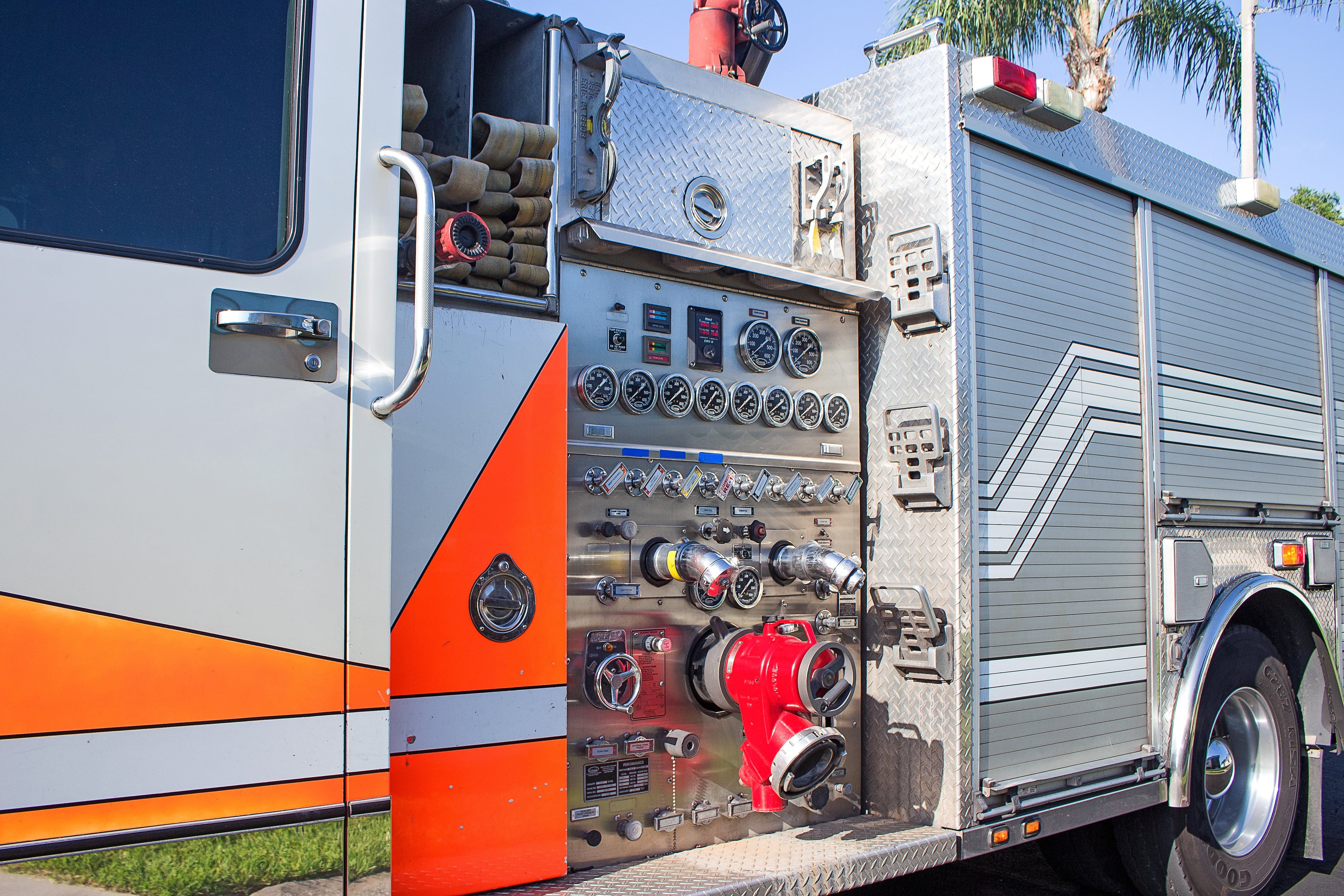 Gray Fire Engine
