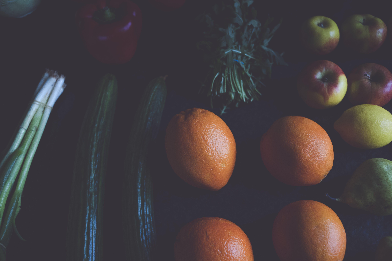 Gratis lagerfoto af frugter, grøntsager, mad, sund