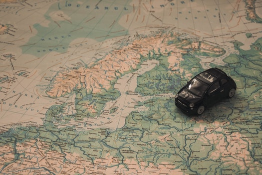 Free stock photo of holidays, car, travel, route