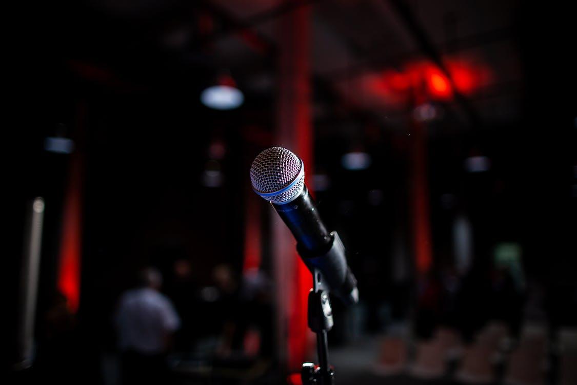 Darmowe zdjęcie z galerii z makro, mikrofon