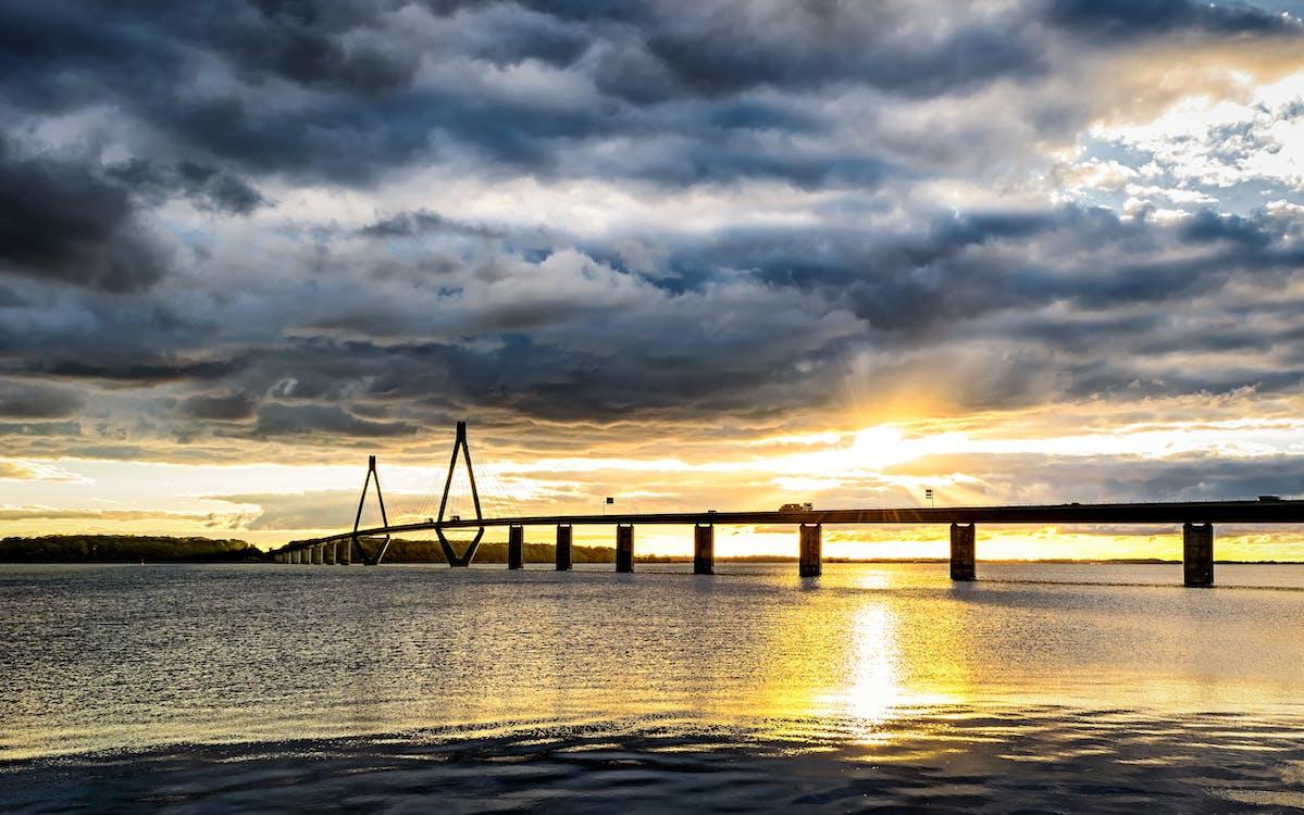 Silhouette of Bridge