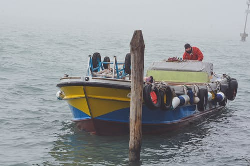 Kostnadsfri bild av arbetssätt, båt, curie, dimma