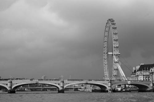 Ảnh lưu trữ miễn phí về Anh, bw, cầu, đen và trắng