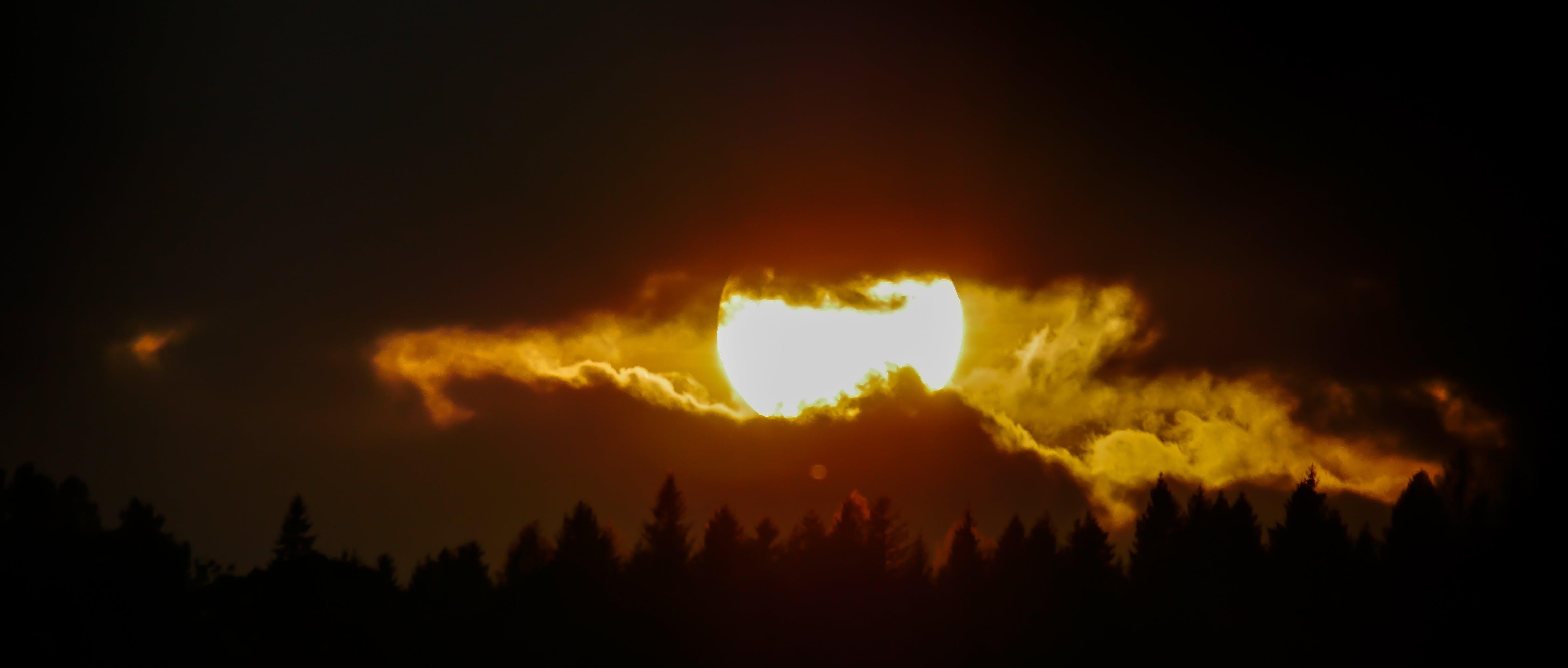 Free stock photo of sunset, holiday, romantic, sun