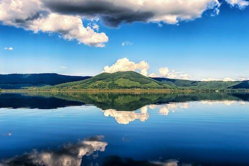 反射, 和平的, 天空, 山 的 免費圖庫相片
