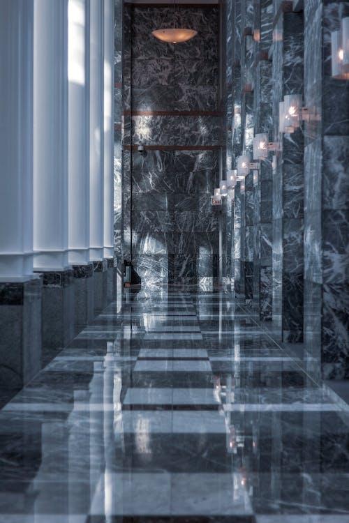 Foto profissional grátis de arquitetura, arquitetura contemporânea, azulejos, bolinhas de gude