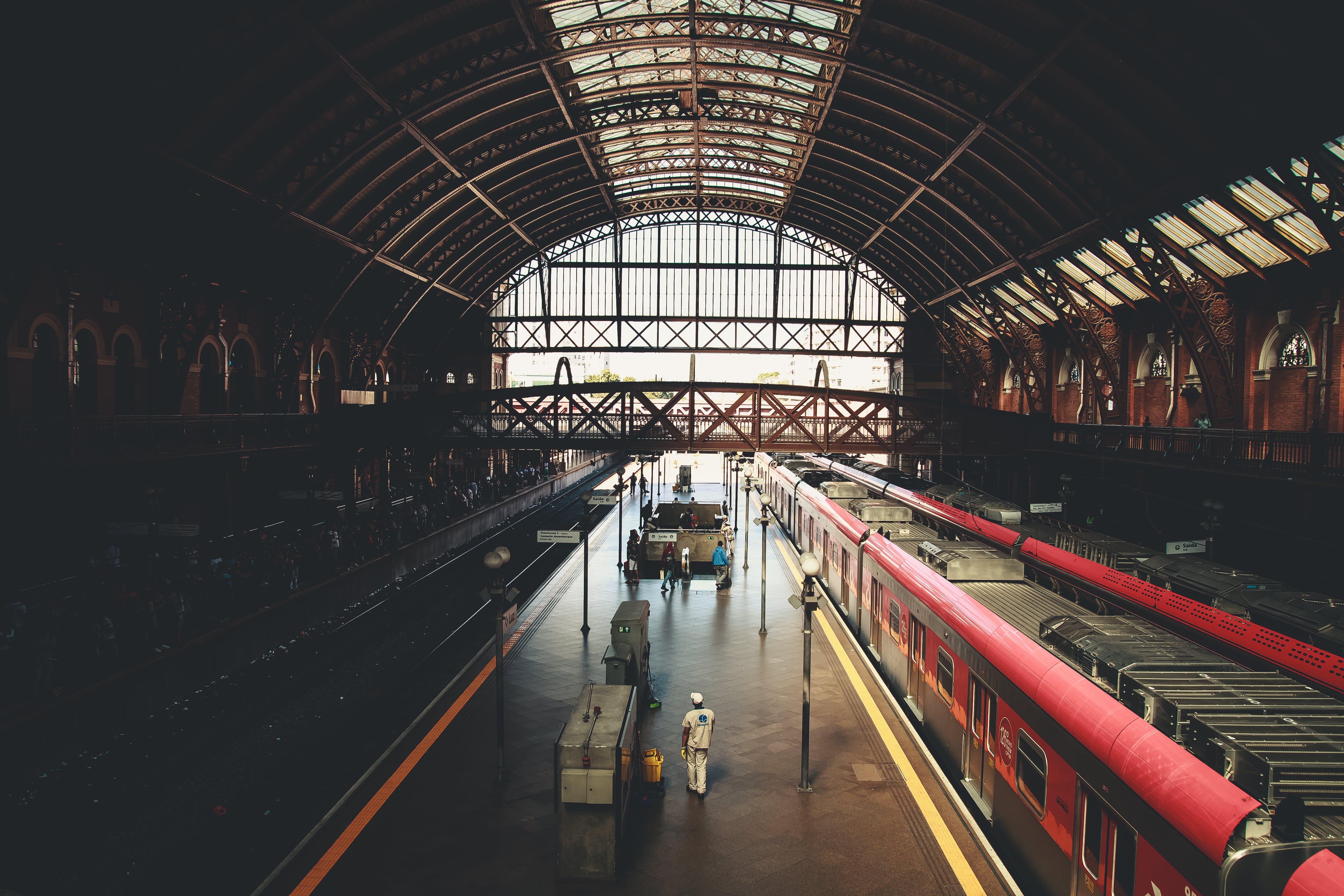 Ảnh lưu trữ miễn phí về ga tàu, ga xe lửa, hệ thống giao thông, nền tảng