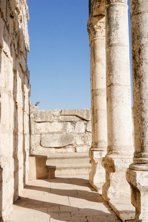 Row of Concrete Column