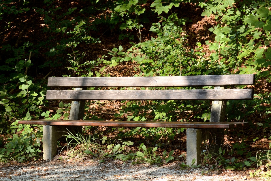 Brown Wooden Outdoor Bench during Day Time