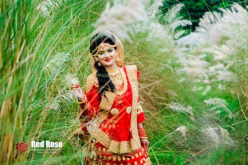 一對, 創作的, 婚禮, 孟加拉国 的 免费素材照片