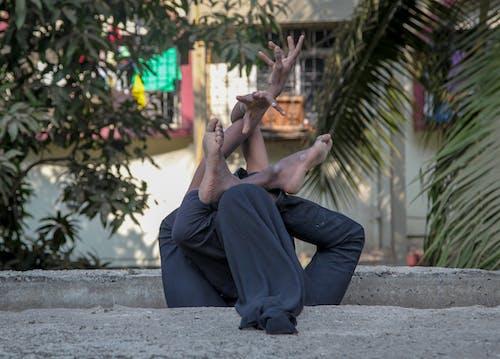 Immagine gratuita di galleria di immagini artistiche di flex contorsion strength