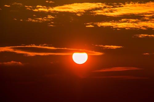 Immagine gratuita di alba, cielo, drammatico, leggero