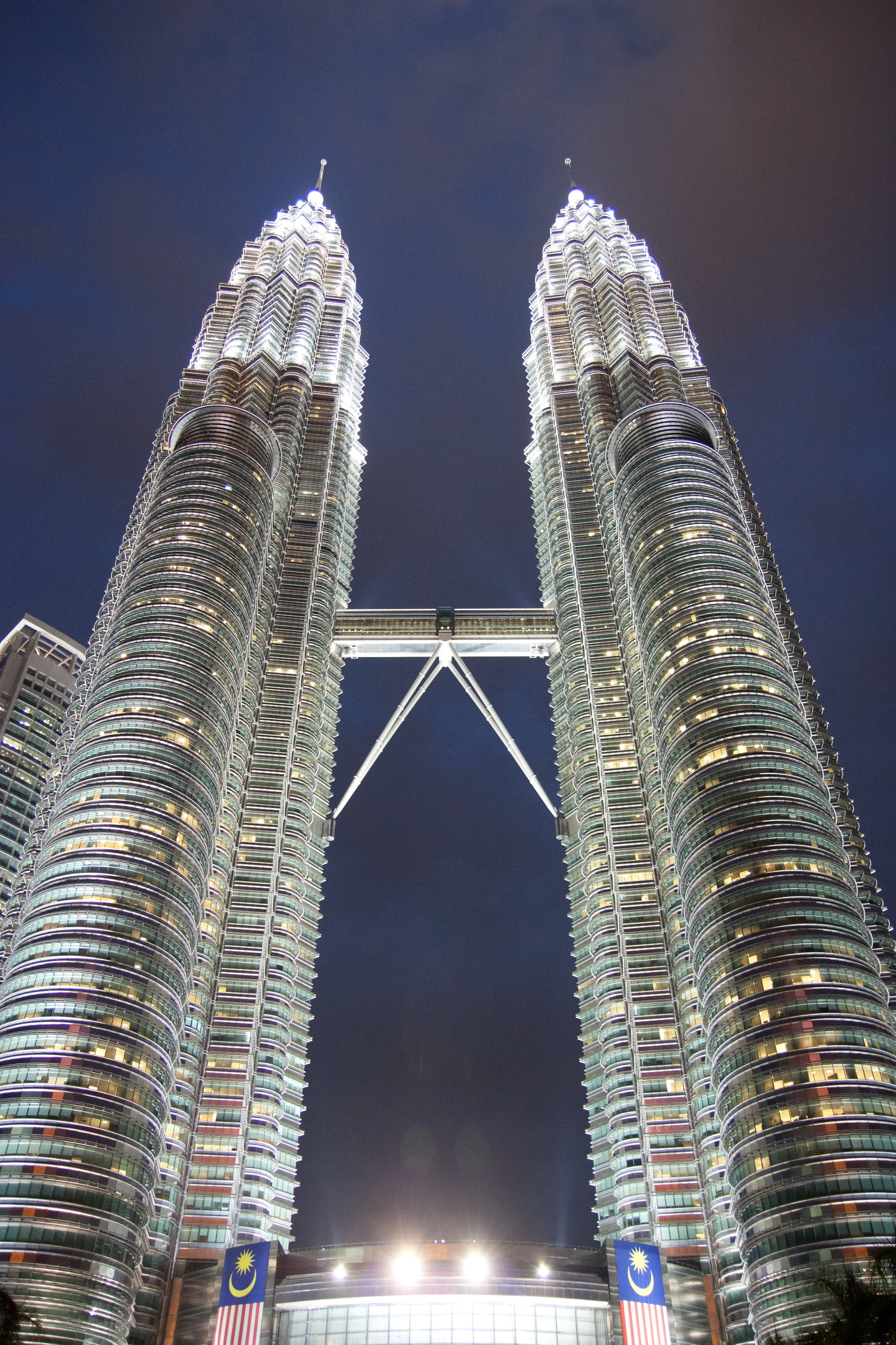 Low Angle Photography of Petronas Tower in Malaysia