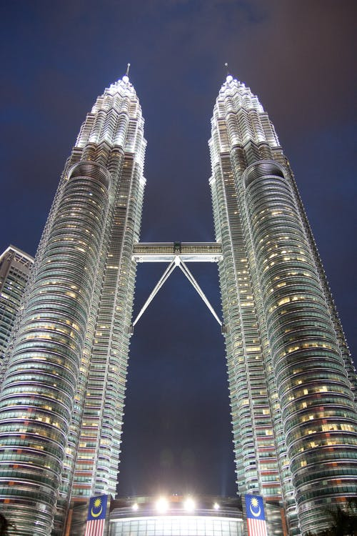 architektura, budovy, fotografie znízkého úhlu