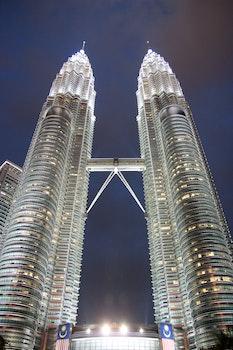 Free stock photo of city, dawn, lights, skyline