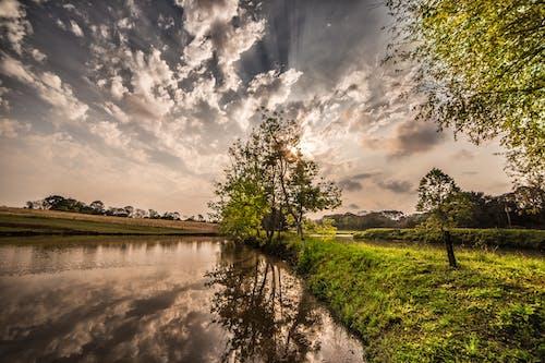 คลังภาพถ่ายฟรี ของ การสะท้อน, ธรรมชาติ, น้ำ, ภาพสะท้อน