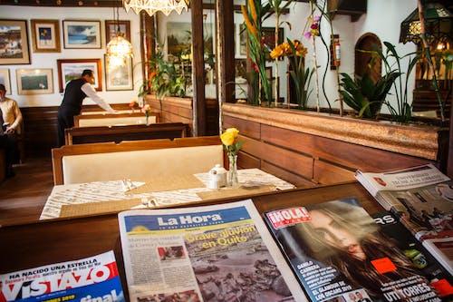 Ảnh lưu trữ miễn phí về báo chí, nhà hàng, tạp chí, đồ cũ