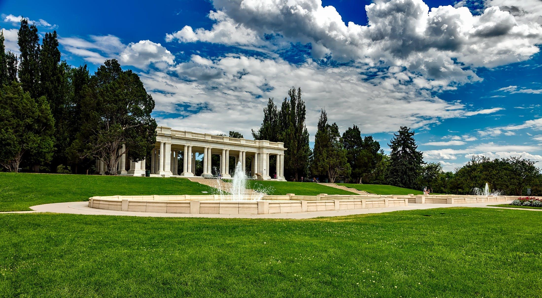 Ilmainen kuvapankkikuva tunnisteilla arkkitehtuuri, cheesman puisto, colorado, denver