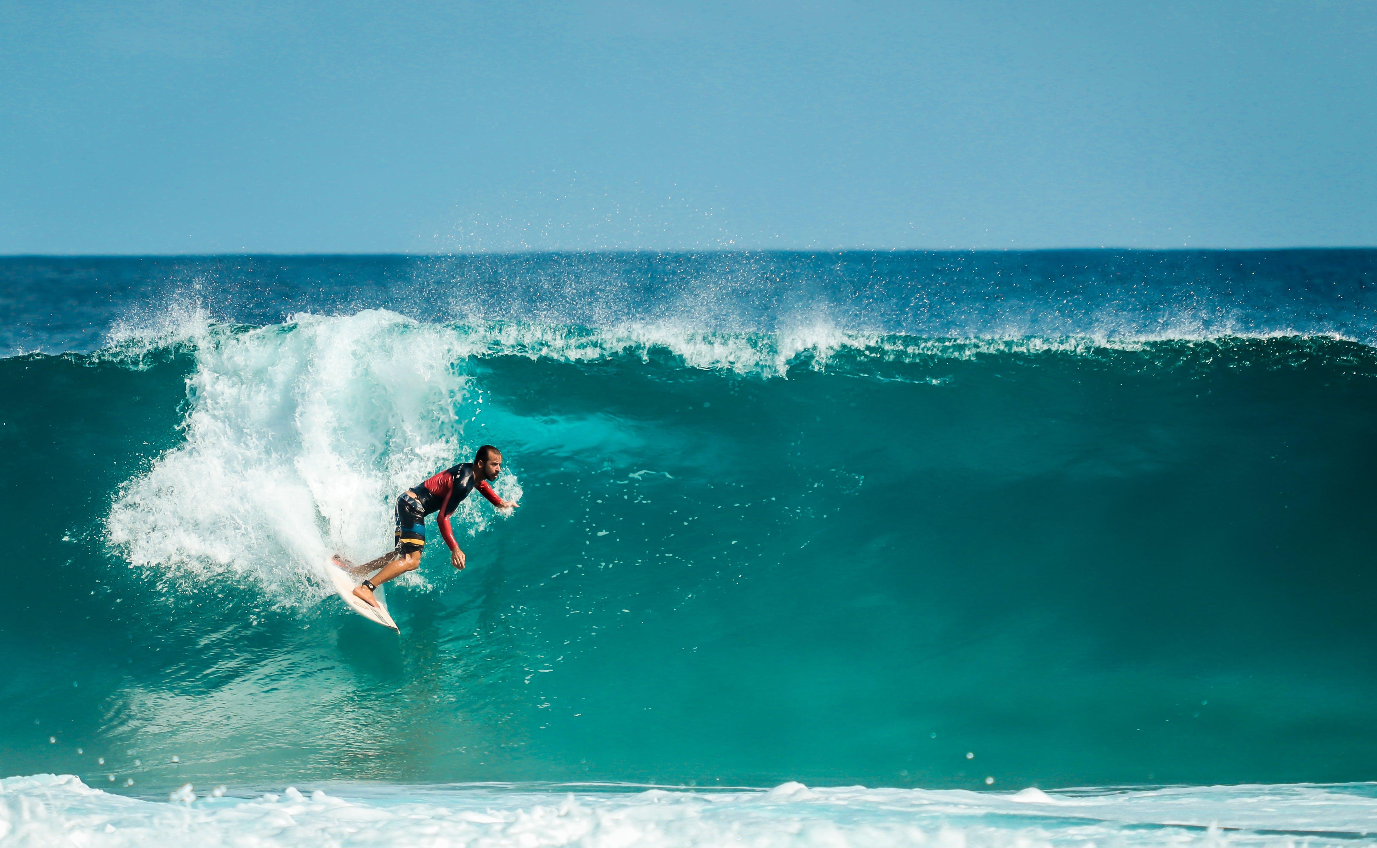 Gratis lagerfoto af aktiv, atlet, bevægelse, bølger