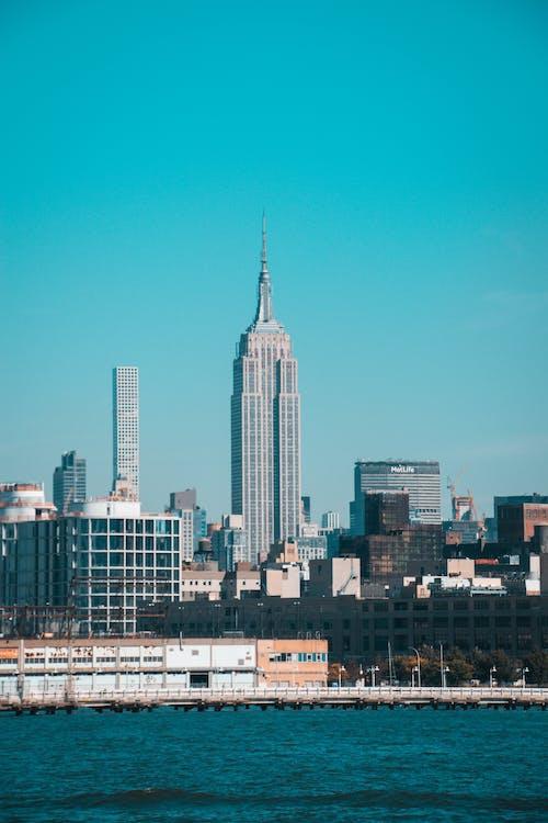 Chrysler Tower of New York Cityscape