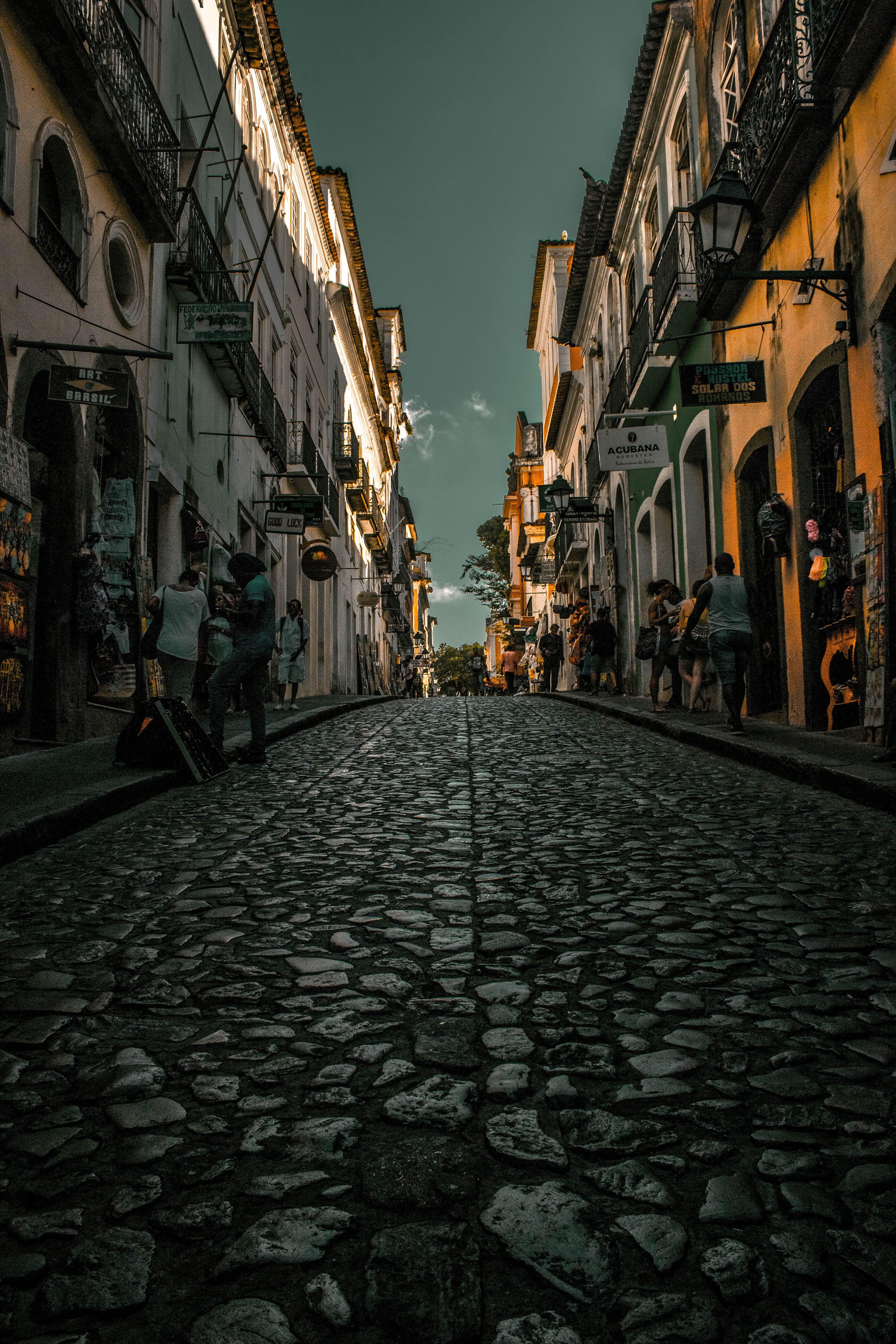 シティ, タウン, ライト, 光の無料の写真素材