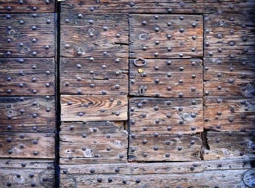 Ingyenes stockfotó antik, anyag, barna, bejárati ajtó témában