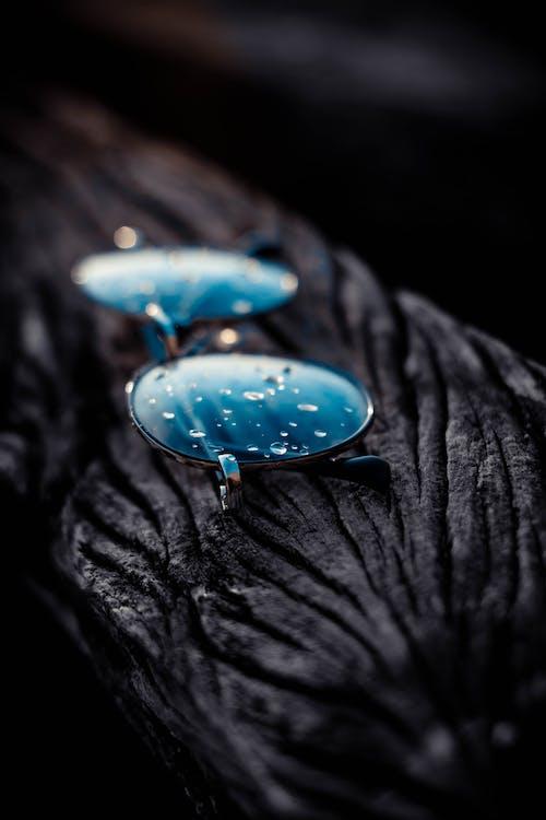 H2O, サングラス, ドロップ, マクロの無料の写真素材