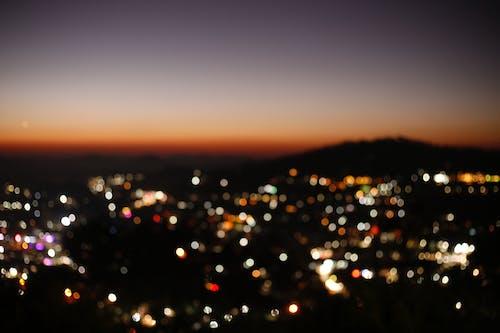 Fotobanka sbezplatnými fotkami na tému bokeh, krajina, krásny, mestské svetlá