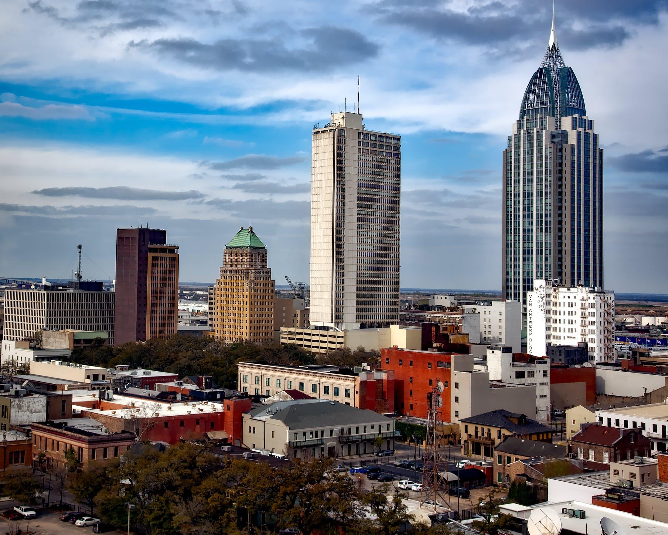 シティ, タワー, ダウンタウン, 建物の無料の写真素材