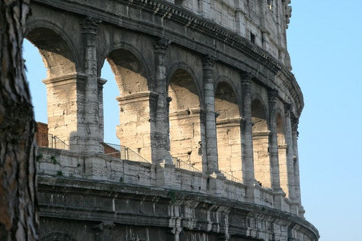 Free stock photo of italy, rome, Coliseum, ancient architecture