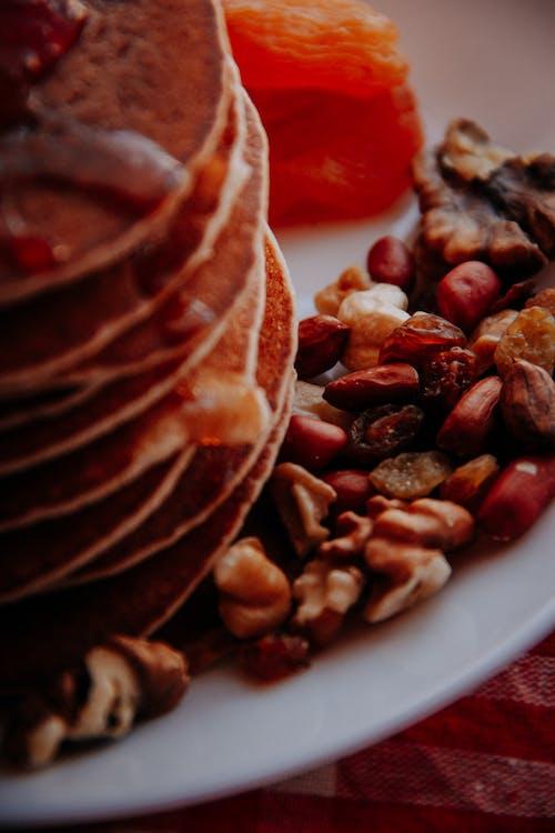 Immagine gratuita di cibo, colazione, dadi, delizioso