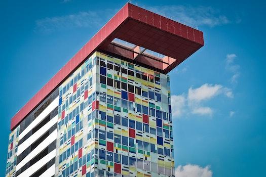 Free stock photo of city, art, building, pattern