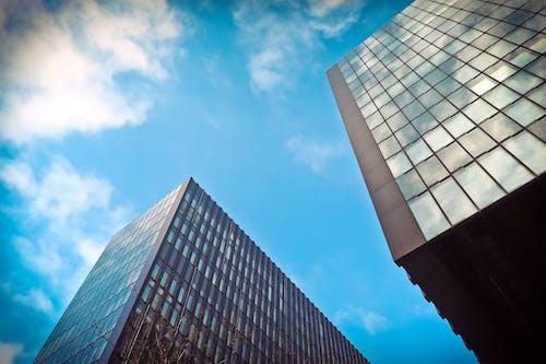 Ảnh lưu trữ miễn phí về các tòa nhà, cao tầng, chén, góc chụp thấp