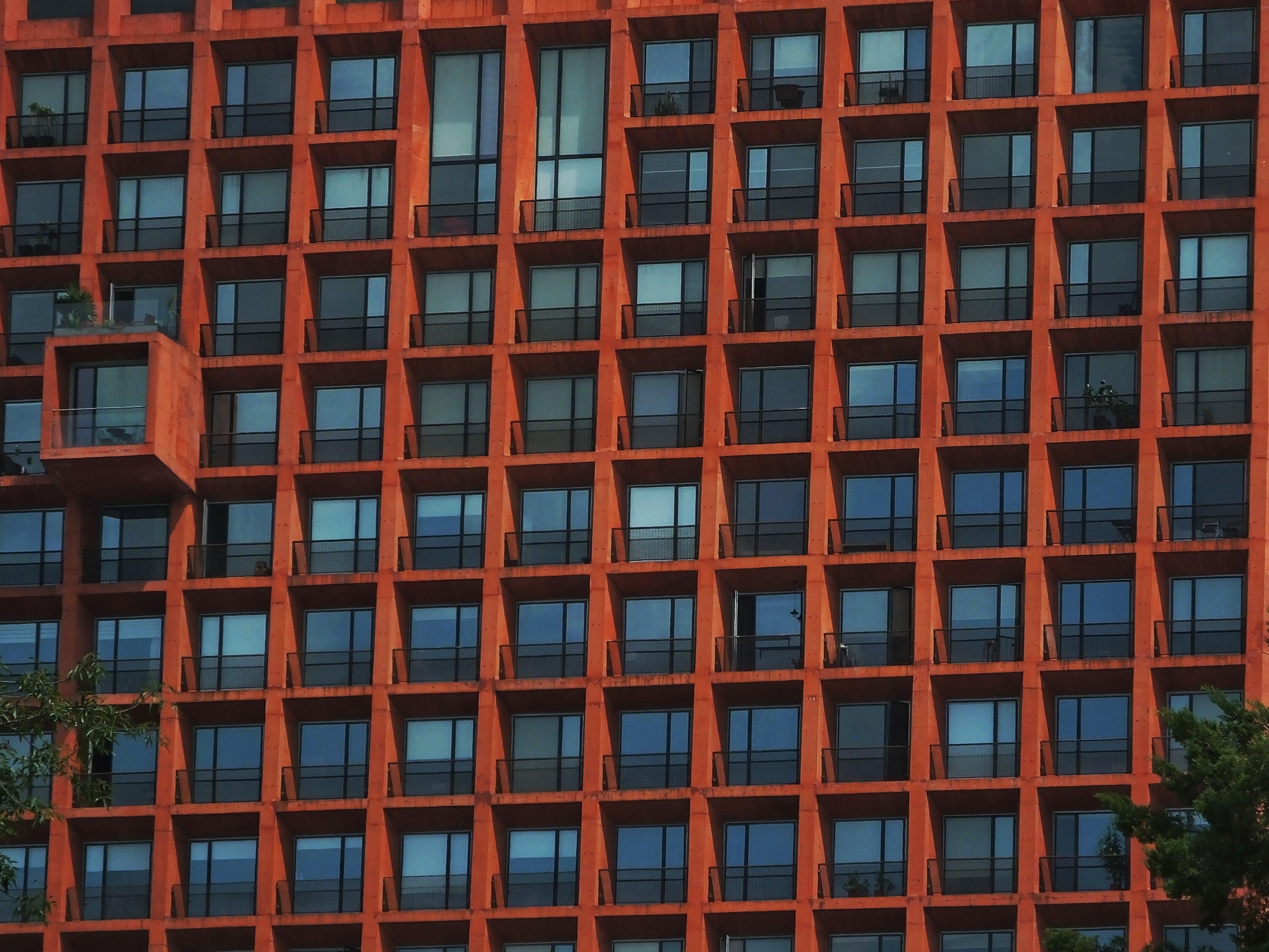 apartment, architecture, balcony