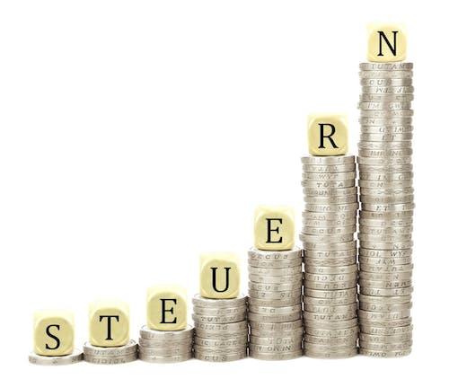 Ingyenes stockfotó befektetés, diagram, emelkedik, érmék témában