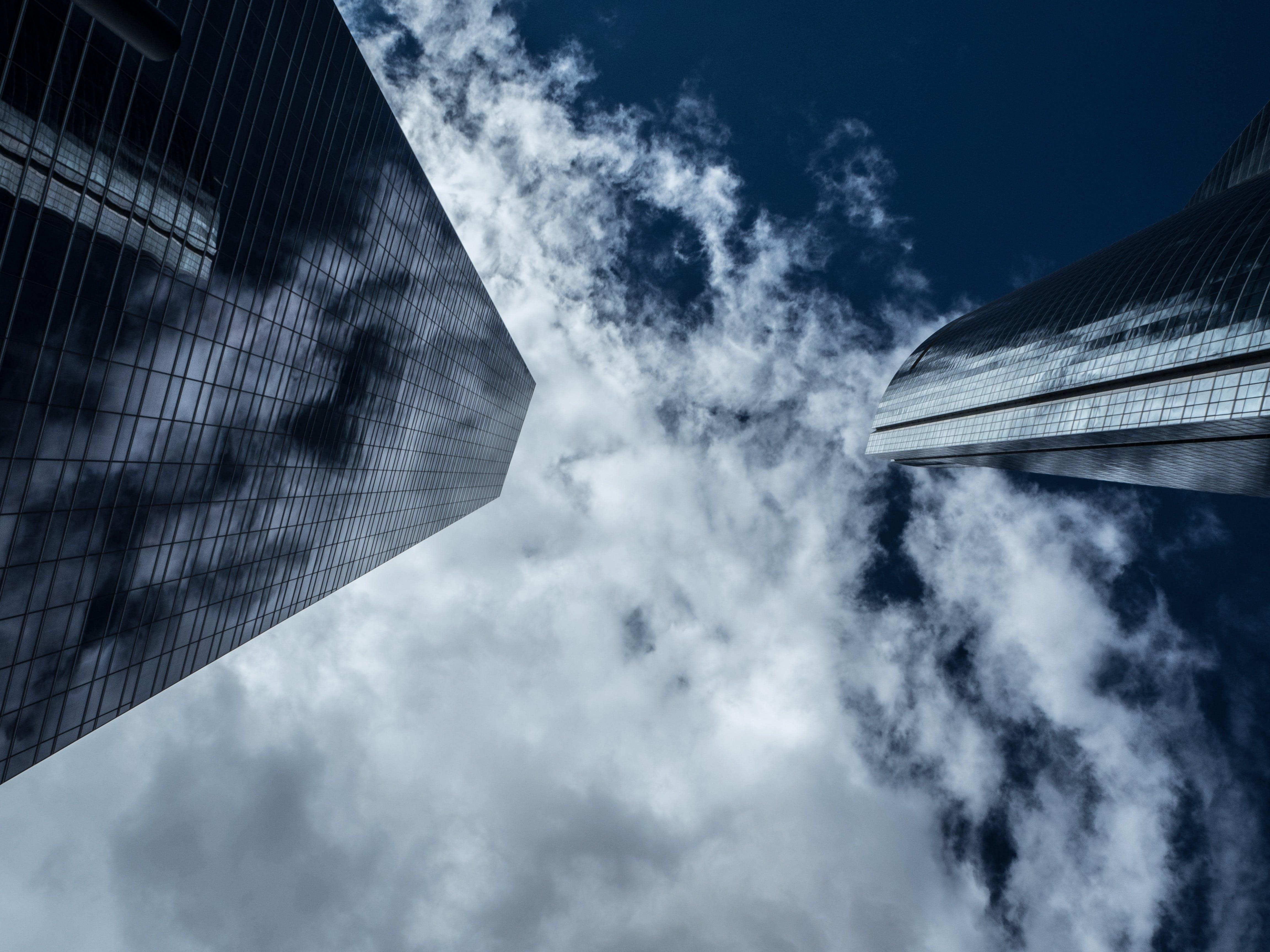 Kostnadsfri bild av arkitektur, byggnad, företag, glas