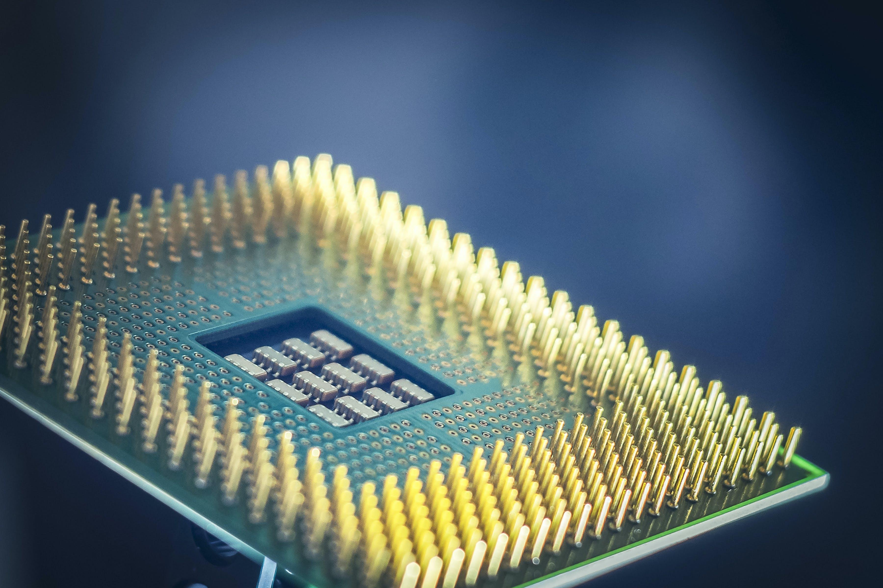Kostenloses Stock Foto zu chipsatz, computer, cyber, hardware