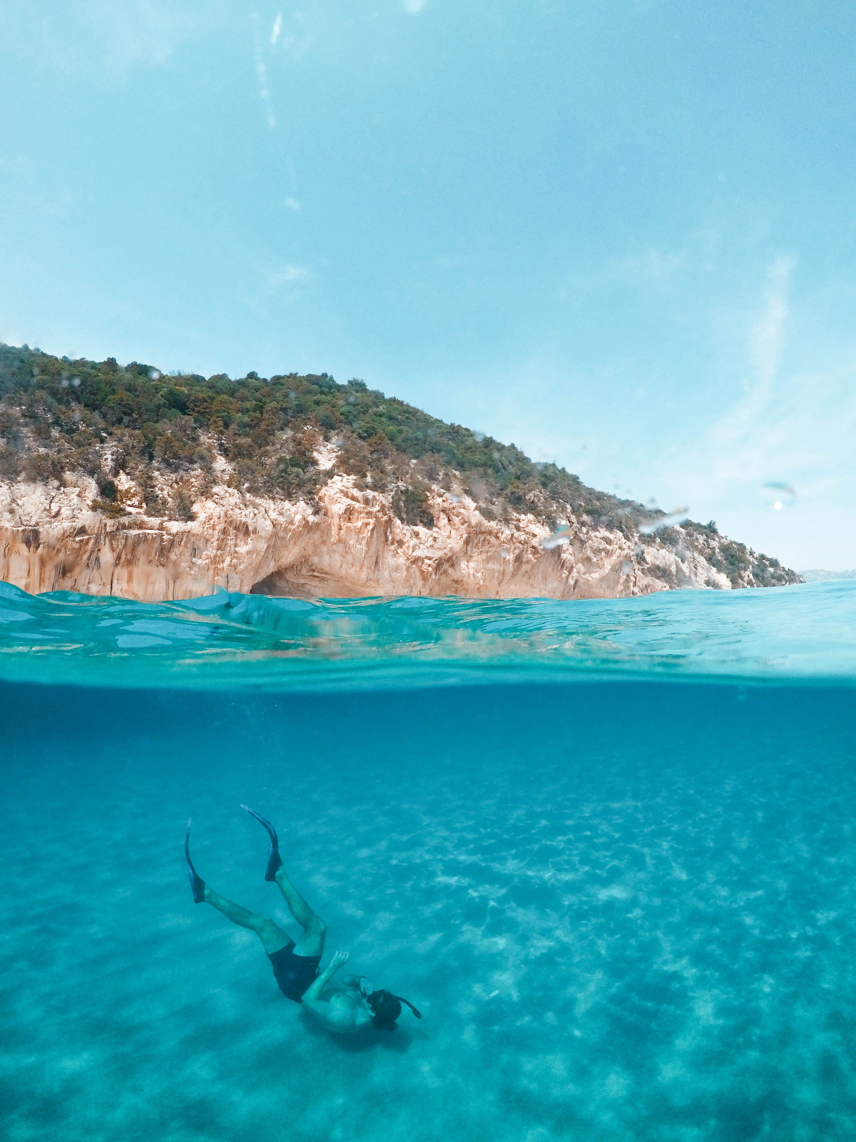 คลังภาพถ่ายฟรี ของ การดำน้ำ, การถ่ายภาพระดับแยก, การท่องเที่ยว, การผ่อนคลาย